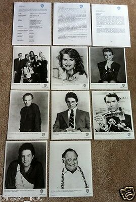 Murphy Brown TV Show Series Press Kit Photo Candice Bergen Faith Ford Media Book