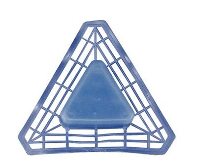 BT1026T Urinal Deodoriser Tab Blue Cleans  Eliminate Odours Triangle shaped