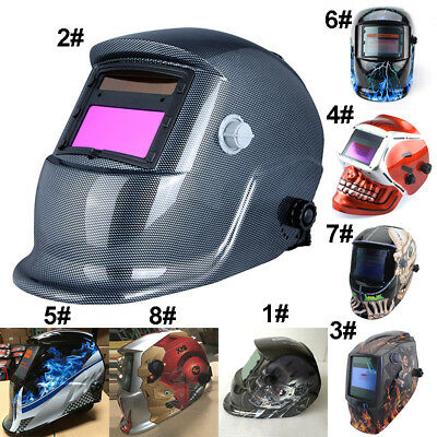 Solar Auto new Darkening Welding Helmet Arc Tig Mask Grinding Safety Welder Mask
