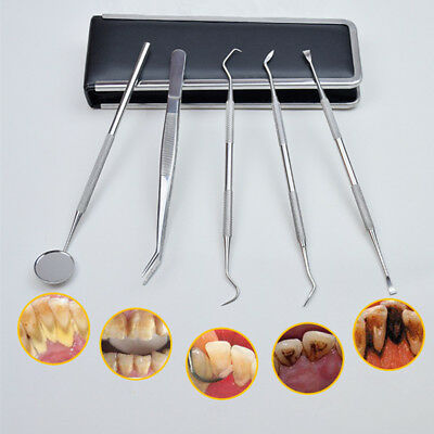 New Stainless Steel Dental Lab Kit Dentist Surgical Wax Carving Teeth Tool Set