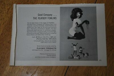 Playboy Products 1963 Playboy Magazine ad - Very Good