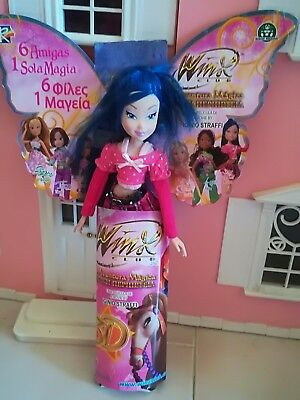 Beautiful Winx Club Musa City Girl Trendy Doll Witty Toys Rare Hard to Find 2011