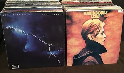 Hard Rock Pop, Prog Plattensammlung DAVID BOWIE Arik Brauer AC/DC Deep Purple...