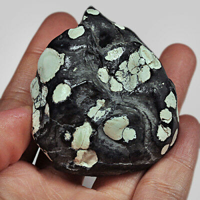 304CT 100% Natural High-hardness Spiderweb Turquoise Rough Specimen MYKM768