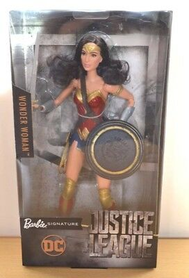 Justice League Wonder Woman Dc Comics Barbie Signature 2017 FREE EXPRESS POST SA