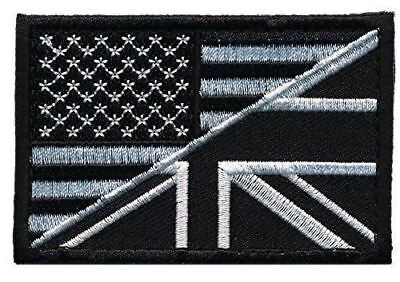 USA / UK Tactical Embroidered Flag Patch