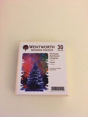 Wentworth Wooden Micro Jigsaw Puzzle - PUZZLE THAT RUNINED CHRISTMAS 30 Pieces