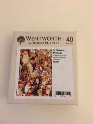 Wentworth Wooden Micro Jigsaw Puzzle -St Nicholas Montage 40 Pieces