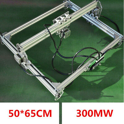 300MW 65x50cm Laser Engraving CNC Cutting Engraver Cutter Printer Machine DIY