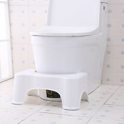 Toilet Squatty Step Stool Bathroom Potty Squat Aid Disability Piles Useful AU