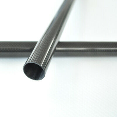 6MM OD x 5MM ID Carbon Fiber Tube 3k 500MM Long (Roll Wrapped) carbon pipe 6*5