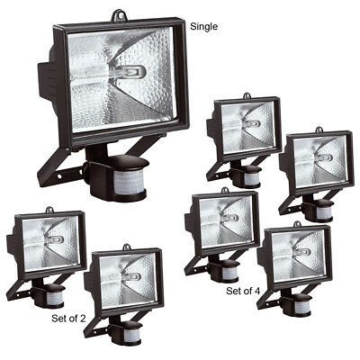 Kingavon 400W Halogen Floodlight Garden Security Light With Pir Motion Sensor