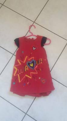 robe fille DPAM 2 ans ( taille 12/18 mois) BE