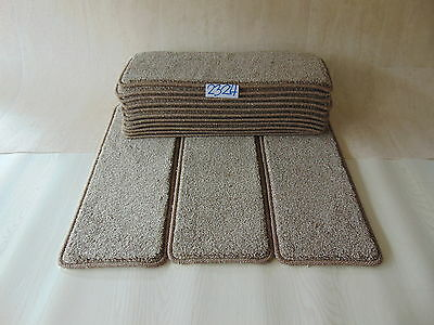Open Plan Stair Carpet / Pads treads 60 cm x 23 cm  14 off  2324-4