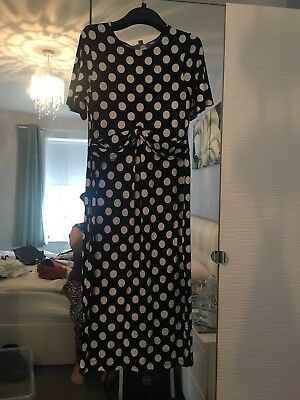 Asos Maternity Spotted Dress BNWT Size 16