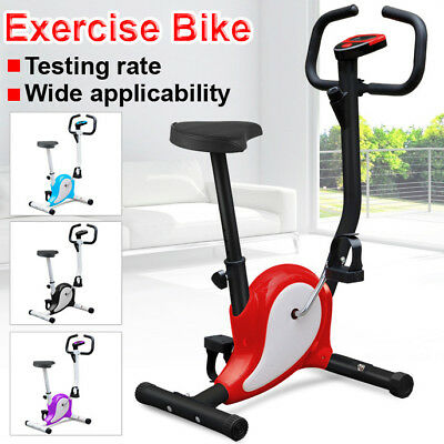 Training Cycle Exercise Bike Fitness Cardio Workout Home Cycling Machine Used B