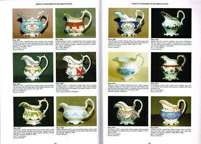 A CABINET OF BRITISH CREAMERS - Michael Berthoud 1999. 1,116 in colour.