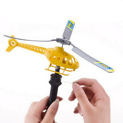 Handle Pull Plane Aviation Outdoor Toy For Kids Play Model Aircraft HelicopterMH