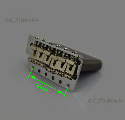 Electric Guitar Vintage Tremolo Bridge(Black) Full Size Steel Block For Strat St