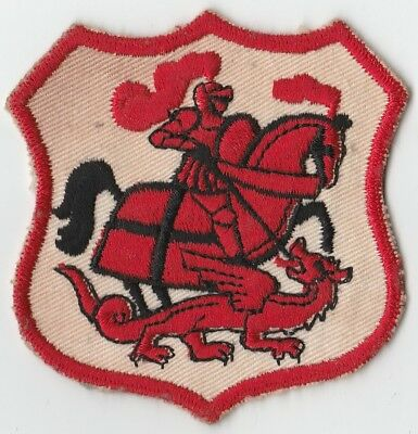 St George Dragons Patch 1965, NRL, ARL, Cloth, Badge, Embroidered, Rugby League
