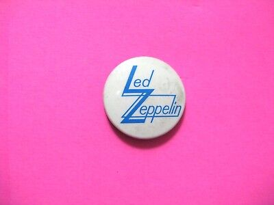 Led Zeppelin Vintage Button Badge Pin Uk Import Not Shirt Patch Cd