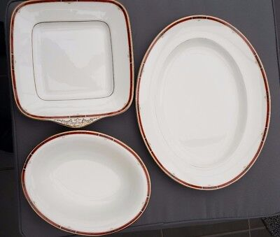 Wedgwood Colorado Oval Plate Square Plate & Dish