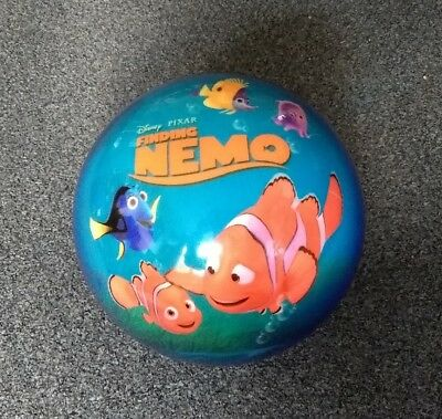 Disney Pixar Finding Nemo Bowling Ball 7Lb Undrilled Unused With Carry Bag