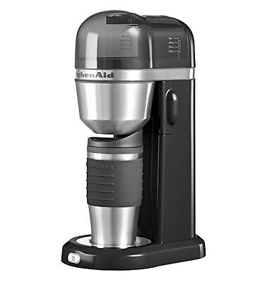 KitchenAid 5KCM0402BOB Personal Coffee Maker 700W 0.5 Litre Onyx Black