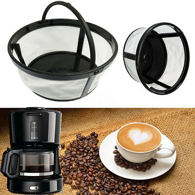 4 Cup Permanent Coffee Filter Basket Style For Mr. Coffee 4 Cup Coffeemakers New