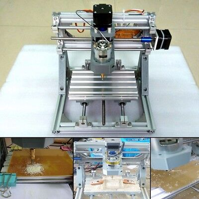 3 Axis DIY Mini CNC Milling Engraving Machine Kit + 2500mw Laser Engraver Head
