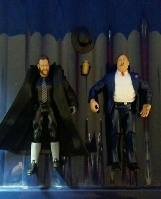 Wwe Undertaker And Paul Bearer Figures