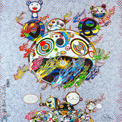 TAKASHI MURAKAMI Chaos DOB Hand Signed & Numbered Japanese Pop art, superflat
