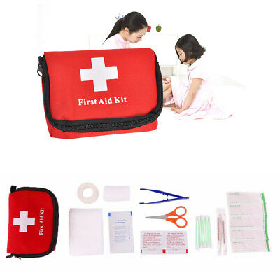 Outdoor  Survival Travel Sports Emergency First Aid Kit Car Medical Rescue Bag