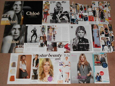 30+ CLEMENCE POESY Magazine Clippings