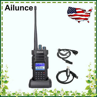 AILUNCE HD1 GPS IP67 TOT Dual Band DMR Digital Walkie