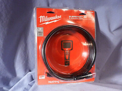 M-Spector AV 8 Foot Extension Cable Milwaukee 48-53-0140