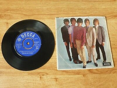 """Rolling Stones *five By Five* Confessin' The Blues 7"""""""