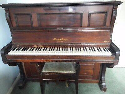 Upright Piano with stool - Good Condition