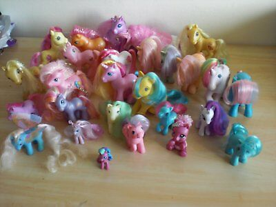 Bundle of Vintage MY LITTLE PONY - G1 & G3 26 in all
