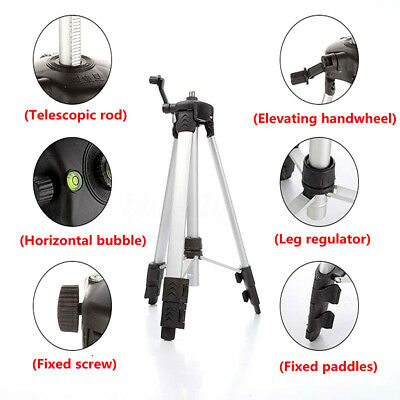 1.2M Tripod For Automatic Self Leveling 5 Line 6 Point 4V1H Laser Level Measure