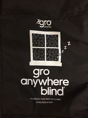 Gro company Gro anywhere travel  blackout blind