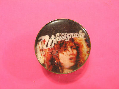 Whitesnake Vintage Pin Button Badge Uk Made Not Patch Shirt Cd