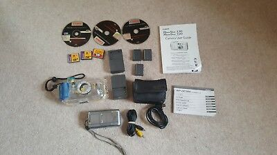 Canon Powershot S40 Package With Waterproof Diving Case