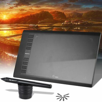 358mm*210mm Electronic Digital Drawing Tablet Pad Hand Writing Board LOT F7