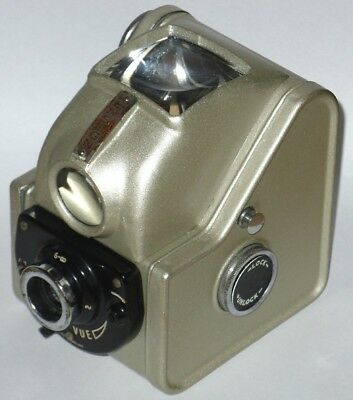 Vintage ENSIGN FUL-VUE MODEL II CAMERA. PALE GOLD