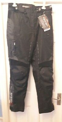 "Mens 34"" Speed-X Water Repellent Quality Motorcycle Trousers Touring, Cbr,gsxr."