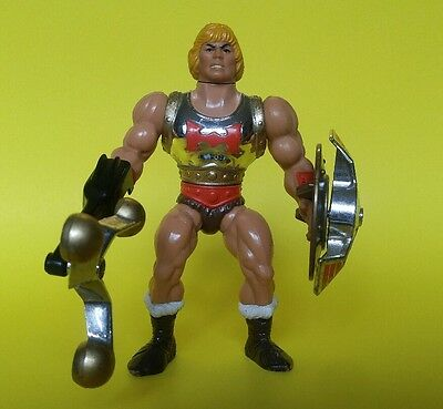 Flying Fists He-Man Loose, Near Complete (Only missing red clip)