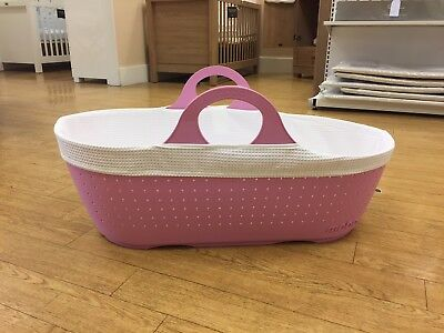 Moba Moses Basket Rose *WAS £93.99* *NOW £49.99* SAVE £44