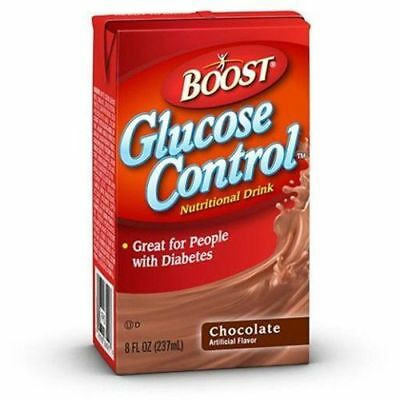 *NEW* Boost Glucose Control Chocolate Nutritional Drink 8oz -8 Pack *GREAT DEAL*