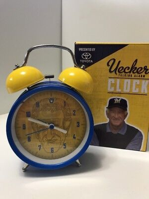 2016 Bob Uecker Talking Alarm Clock Milwaukee Brewers Stadium July 10 2016 SGA